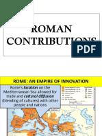 [ 5 ] Roman Contributions