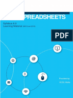 Spreadsheets 6.0 - Excel 2016