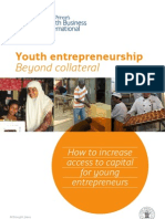 Youth Entrepreneurship Beyond Collateral