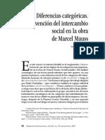 Dapuez - El Intercambio Social en Mauss
