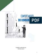 Trabalho - Comportamento do Consumidor