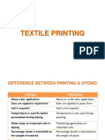 Printing Styles and Methods