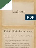 Retail HRM