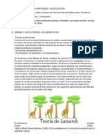 CIENCIAS NATURALES. La evolución 6°