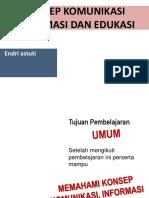 1. Konsep Komunikasi, Informasi Dan Edukasi Rsmt