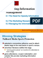SEM Chap 05 Marketing Information Management