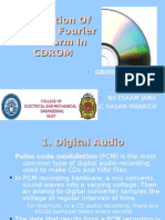 Application of Fast fourier transform (CD ROM)