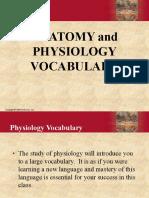Physiology Vocabulary 1