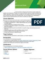 EDU_DATASHEET_vSphere Optimize and Scale V6.7