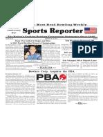 September 18 - 24, 2019  Sports Reporter