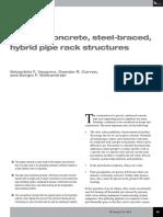 Precast concrete steel-braced hybrid pipe rack structures.pdf