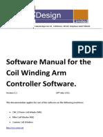 CNCDesign Coil Winder Software Manual V1 2