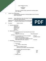 Semi.datailed Lessonplan Week 8