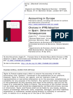 Choices in IFRS Adoption in Spain