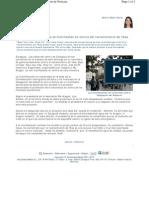 Noticia manifestación 14-N contra Yesa. Aragón Digital