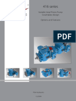 Brochure. 416 Series. Variable Axial Piston Pump. Options _ Features