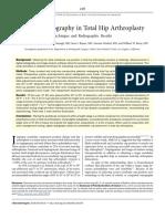 Digital Radiography in Total Hip Arthroplasty