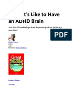 What It's Like to Have an ADHD Brain