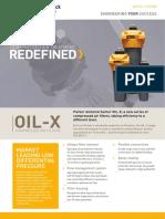 Parker Oil X Filter