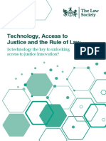 Technology Access to Justice Rule of Law Report