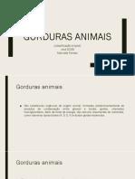 11- Gorduras Animais