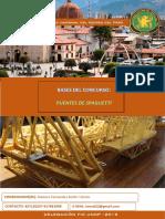 Bases Del Concurso de Puentes Spaghetti