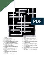 Crossword Ethics Key Answer