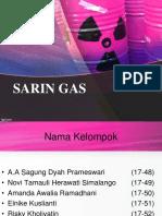 Tugas Toksikologi_Gas Sarin_Kelompok 9
