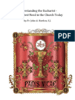 Understanding the Eucharist -The Greatest Need in the Church Today ( by Fr.john a Hardon ,S.J )