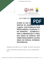 Lei Ordinária 9959 2010 de Belo Horizonte MG