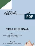 PPT TELAAH JURNAL