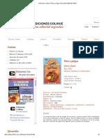 Ediciones Colihue _ Pelos y Pulgas _ Ema Wolf _ 950-581-435-6