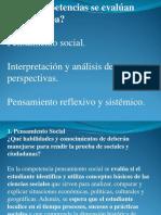 Competencias en Ciencias Sociales