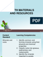 Earth Materials and Resources