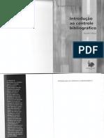 CAMPELLO, Bernadete Santos - Introdução ao Controle Bibliográfico
