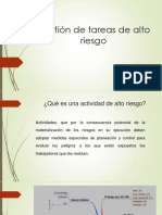 Diapositivas Gestion de Tareas de Alto Riesgo