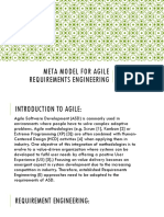 META MODEL for Agile Requirements Engineering