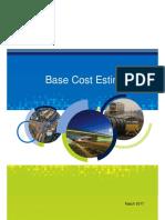 Base Cost Estimation