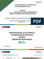 Actividad 2 Valorizacion Organicos OEFA