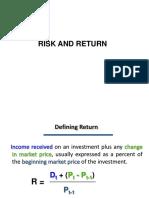 003 Risk -Return