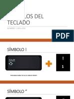 Símbolos Del Teclado