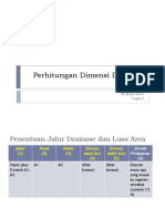 Perhitungan Dimensi Drainase.pptx