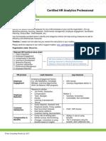 CHRAP Assignment 1 - Metrics