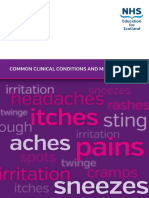 Common Clinical Conditions and Minor Ailments