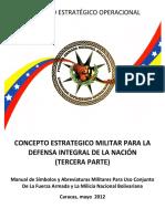 Manual de Simbolos y Abreviaturas Militares