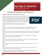 Summarising Maps