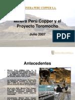 Perú Copper - Presentación Autoridades (2007-07-03).ppt