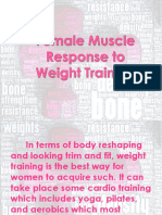 Female Muscle Response to Weight Training