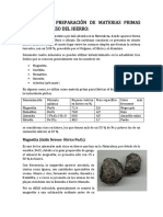 minerales de hierro