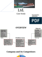 Footwear India Ltd-Case Study 1